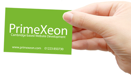 Example Business Card - Back